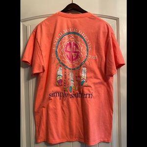 Simply Southern Women's Shirt Large
